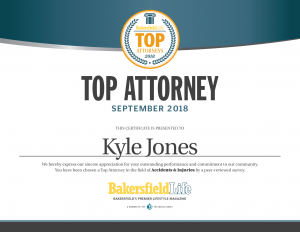 Kyle W. Jones Top Lawyer of 2018