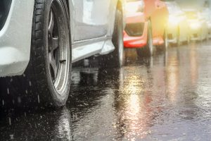 Bad Weather Conditions - Holiday Traffic Accident