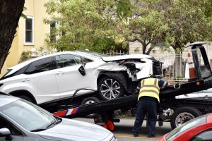 unexpected car accident costs for towing - bakersfield california - kyle w jones